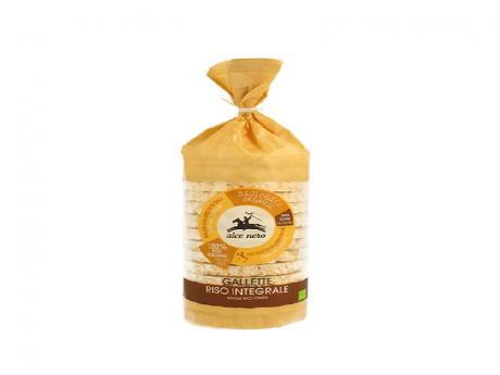 Crackers din orez organic