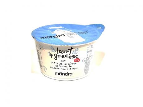 Mândră Iaurt tip grecesc 10% grăsime
