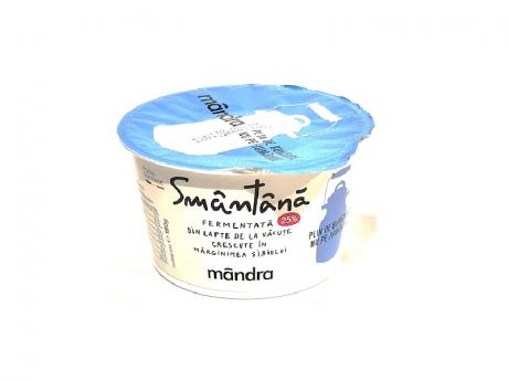 Mandra Smantana 180g 25% grasime