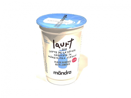Mandra iaurt gras 200g 2,8% grasime
