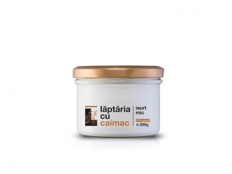 Iaurt natural mic Laptaria cu caimac