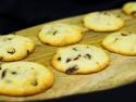 Biscuiti cu vanilie si merisoare