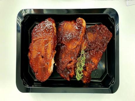 Ceafa de porc barbecue