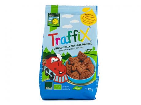 Biscuiti Bio din grau spelta si cacao