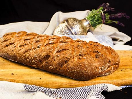 """Pâine artizanală """"crocodil"""""""