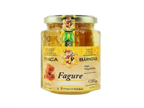 Fagure in borcan cu miere de salcam