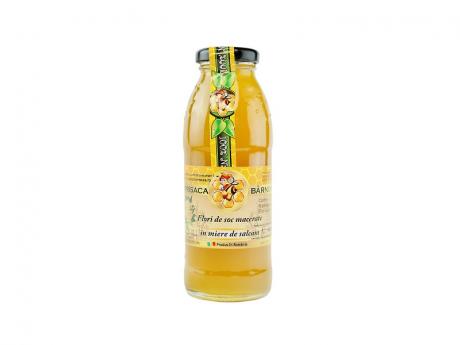 Flori de soc macerate in miere