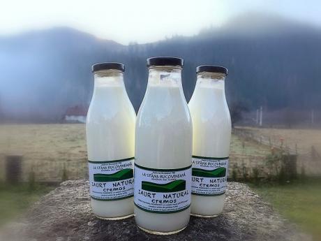 Iaurt natural cremos vacă Stâna Bucovineană