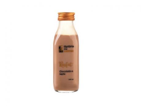 Ciocolata-n Lapte Laptaria cu caimac
