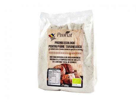 Premix bio pentru paine taraneasca cu seminte