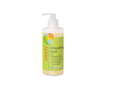 Detergent ecologic pentru spalat vase lamaie Sonett