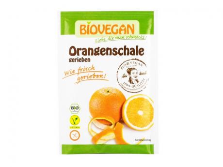 Coaja de portocala Bio rasa