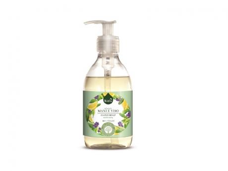 Sapun lichid eco antibacterian cu lavanda si Vitamina E