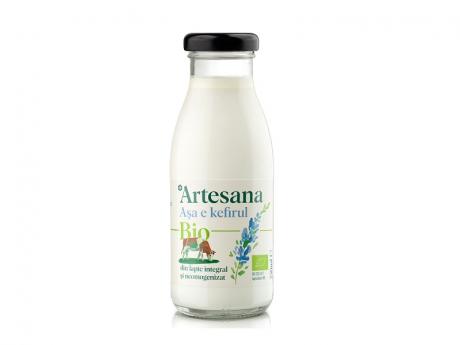 Kefir din lapte de vacă ecologic 3.5% gr. Artesana