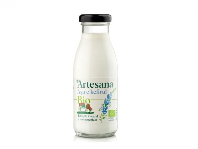 Kefir din lapte de vacă ecologic 3% gr. Artesana