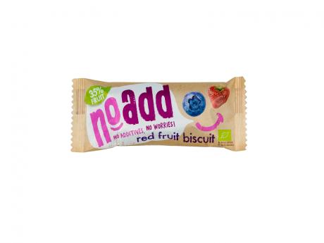 Biscuite Noadd cu umplutură de fructe roșii