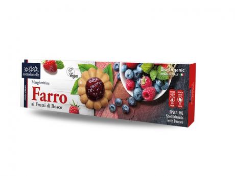 Biscuiți vegan cu fructe de pădure eco