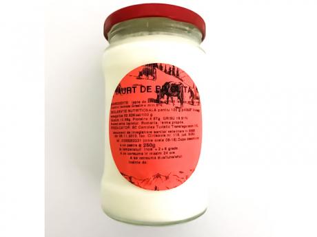 Iaurt din lapte de bivoliță Transfăgărășan