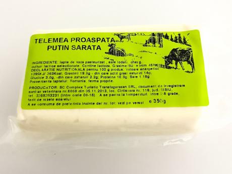 Telemea de vacă Transfăgărășan