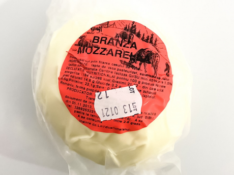 Mozzarella vacă Transfăgărășan