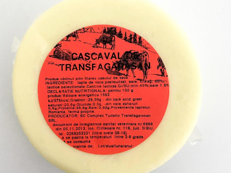 Cașcaval vacă Transfăgărășan