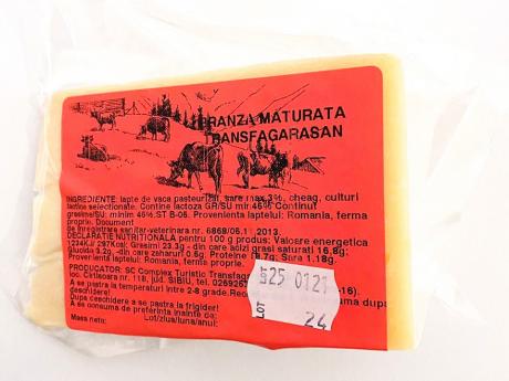 Brânză tip parmezan Transfăgărășan