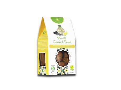 Biscuiți Vegani cu lămâie și țelină