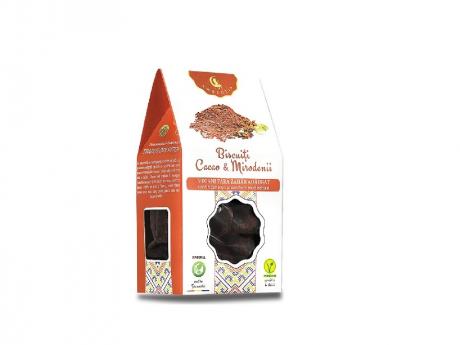 Biscuiți Vegani cu mirodenii și cacao