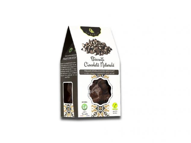 Biscuiți Vegani cu ciocolată naturală