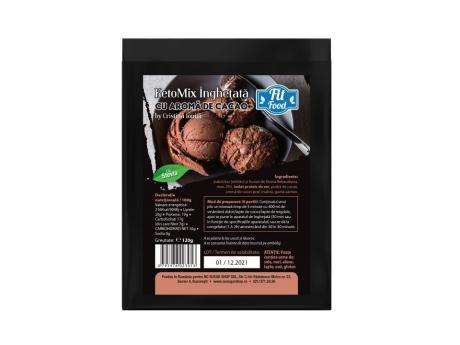KetoMix Praf de Înghețată cu cacao îndulcită cu Stevia by Cristina Ioniță
