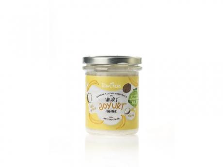 Joyurt iaurt din nuci caju cu banane