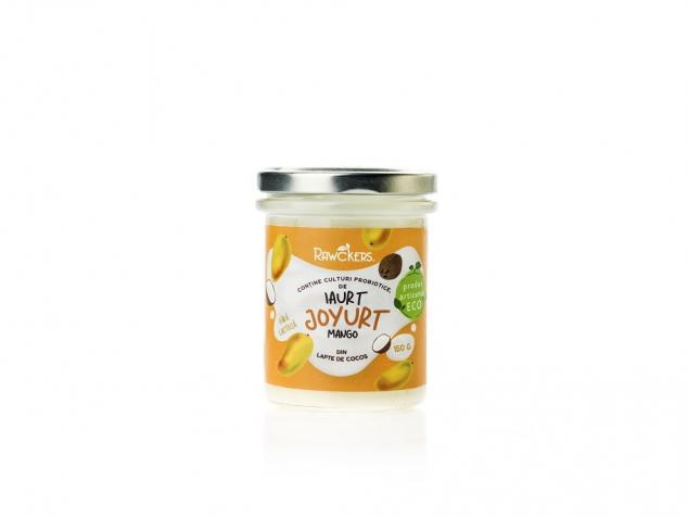 Joyurt iaurt din lapte de cocos cu mango
