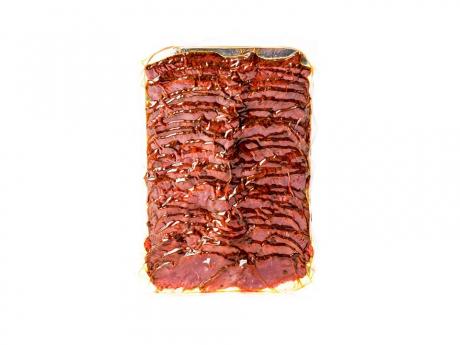Pastramă carne struț