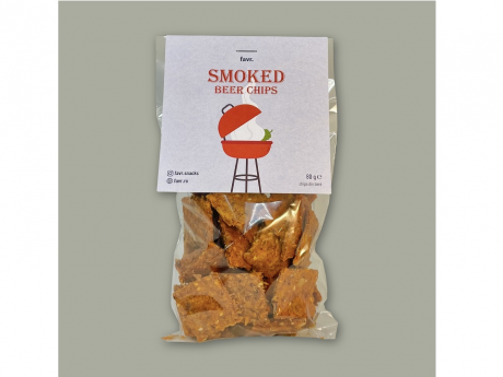 Smoked beer chips